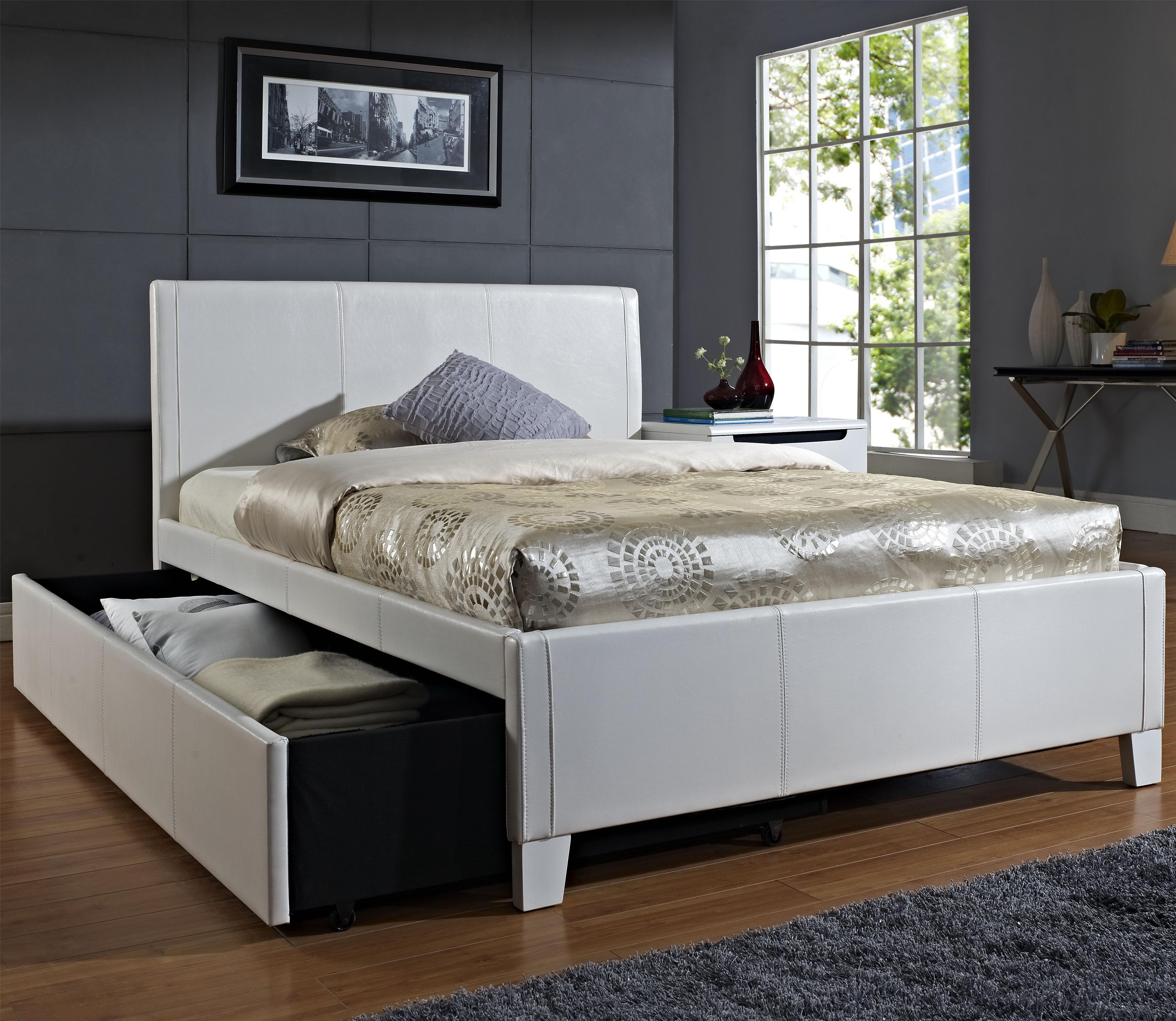 Standard Furniture Fantasia Full Upholstered Trundle Bed - Item Number: 60794+95