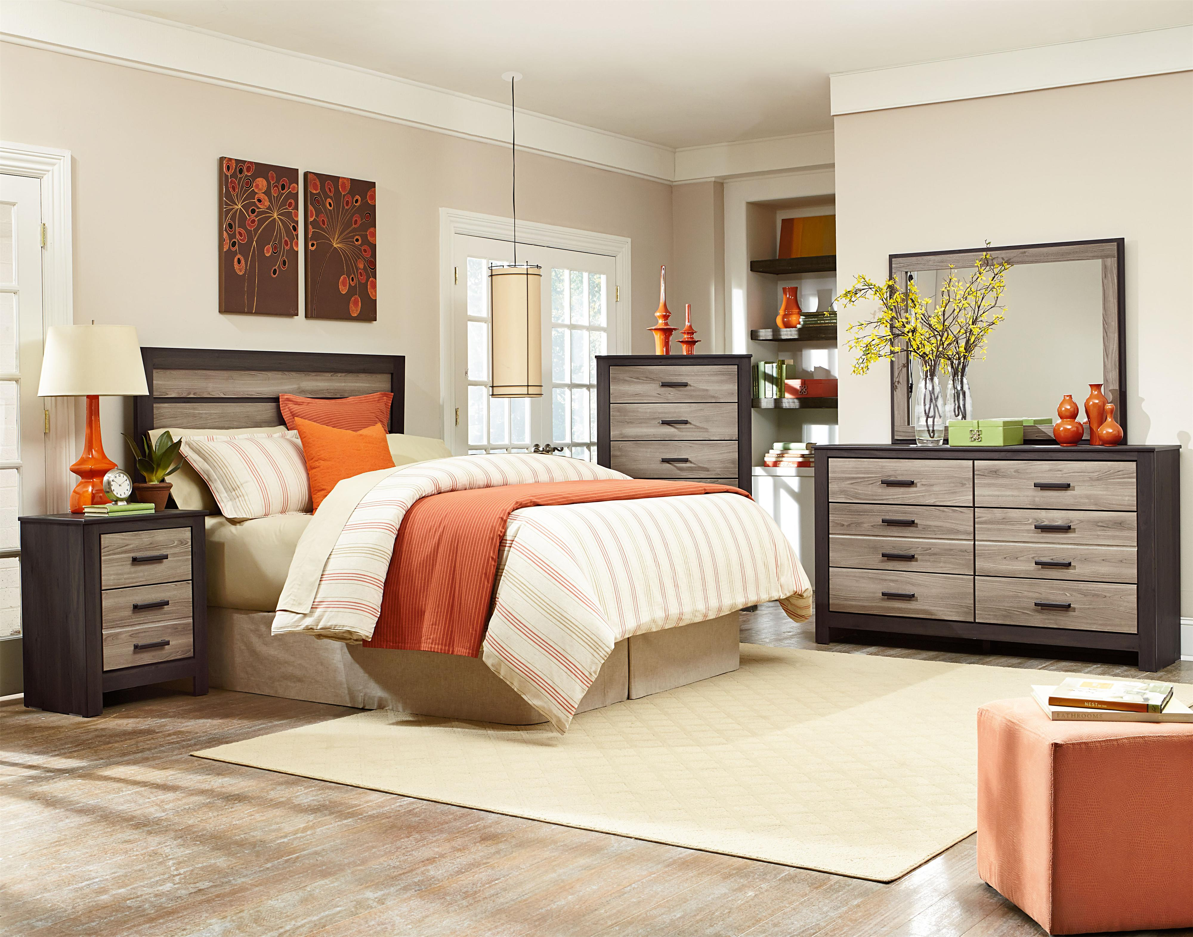 Standard Furniture Freemont Full Bedroom Group - Item Number: 69750 F Bedroom Group 3