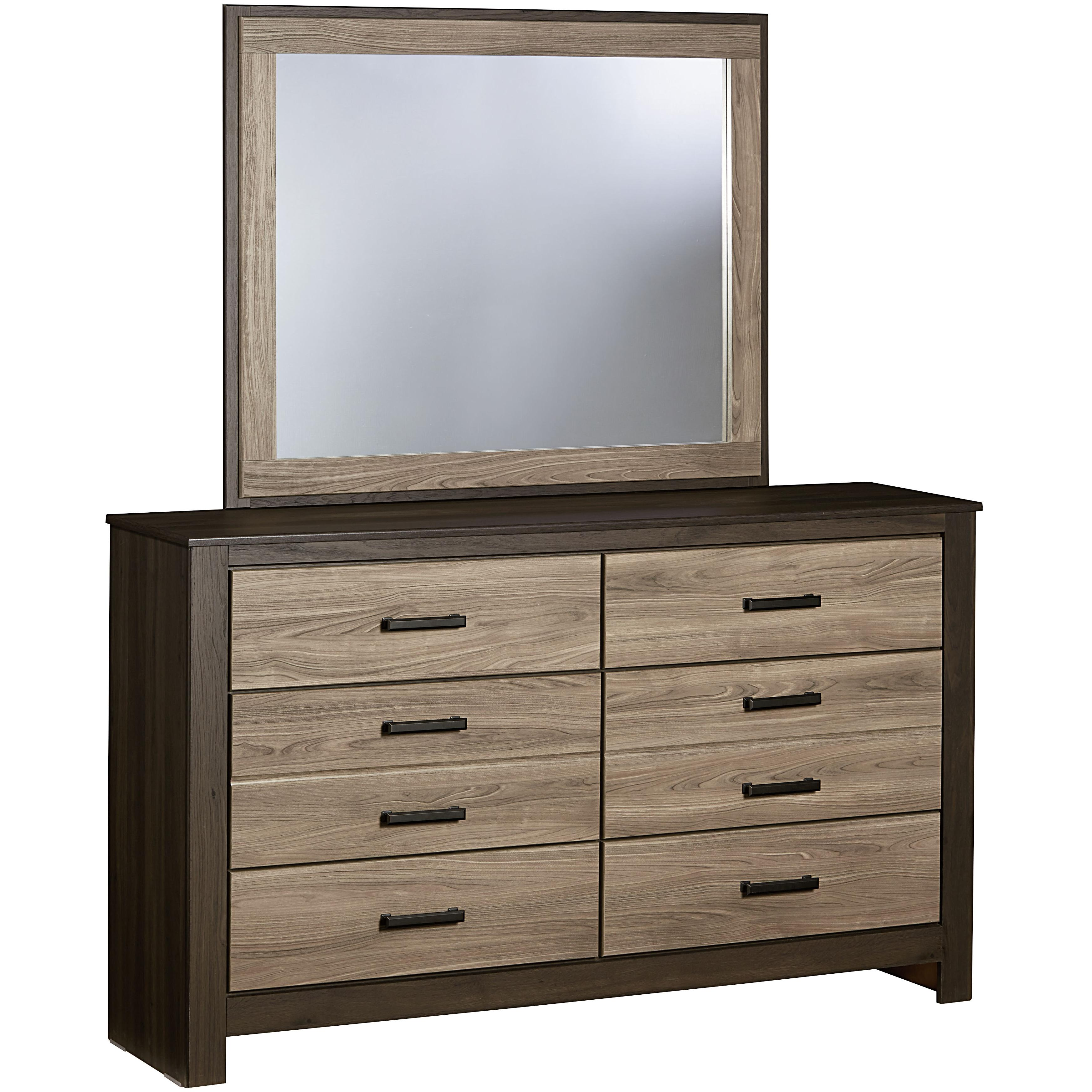 Standard Furniture Freemont Dresser with Mirror - Item Number: 69759+69768