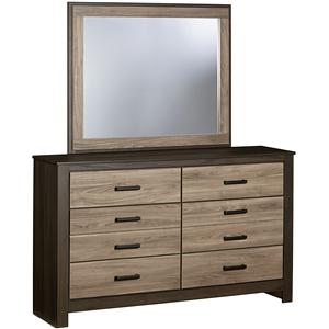 Standard Furniture Freemont Dresser with Mirror