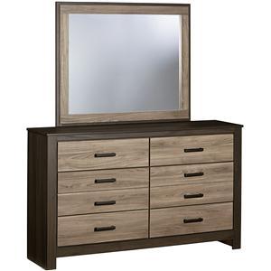 Standard Furniture Freemont Dresser with Mirror