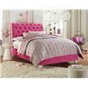 Standard Furniture Gabby Upholstered Tufted Full Bed - Item Number: 86982+86981