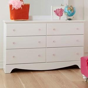 Standard Furniture Gabby 6 Drawer Dresser