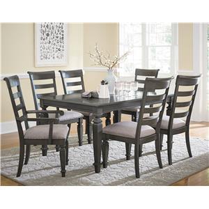 Standard Furniture Garrison Seven Piece Dining Set