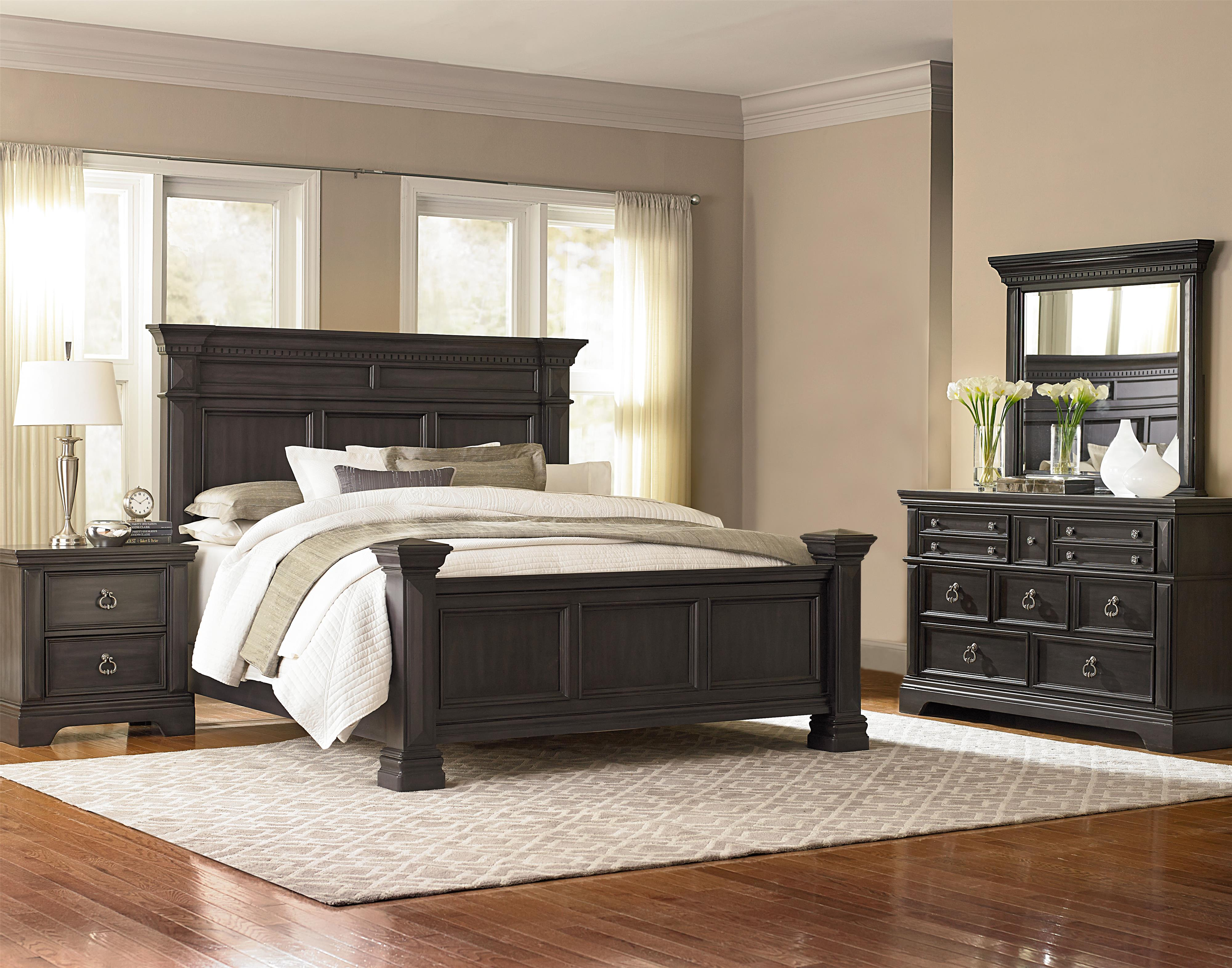 Standard Furniture Garrison Queen Bedroom Group - Item Number: 86300 Q Bedroom Group 1