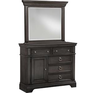 Standard Furniture Garrison Chesser w Mirror