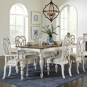 7-pc Table and Chair Set