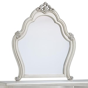 Standard Furniture Giselle Scrollwork Mirror