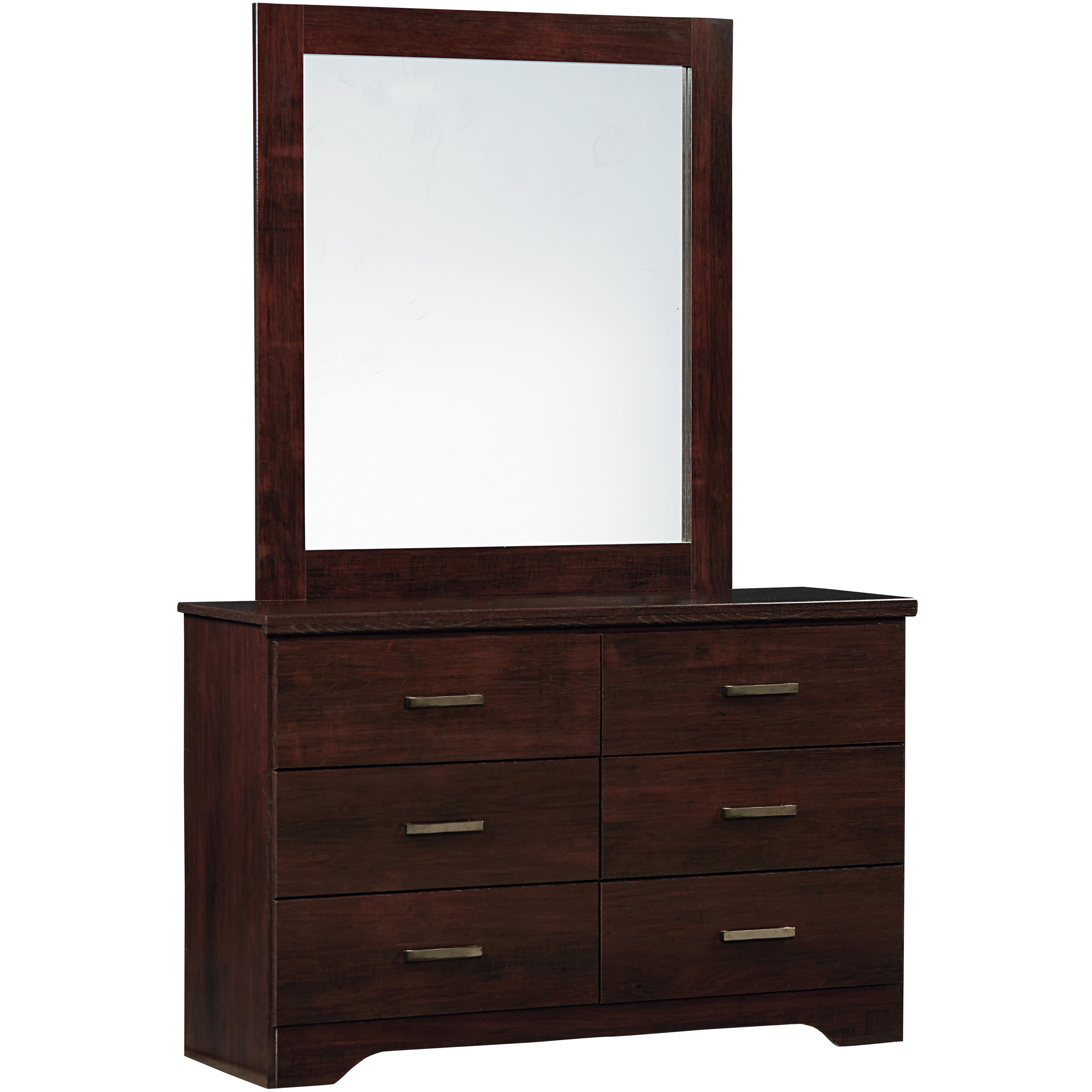 Standard Furniture Glenshire Dresser and Mirror Set - Item Number: 52609+52618
