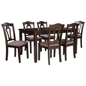 Standard Furniture Grandville Dining Room Table Set