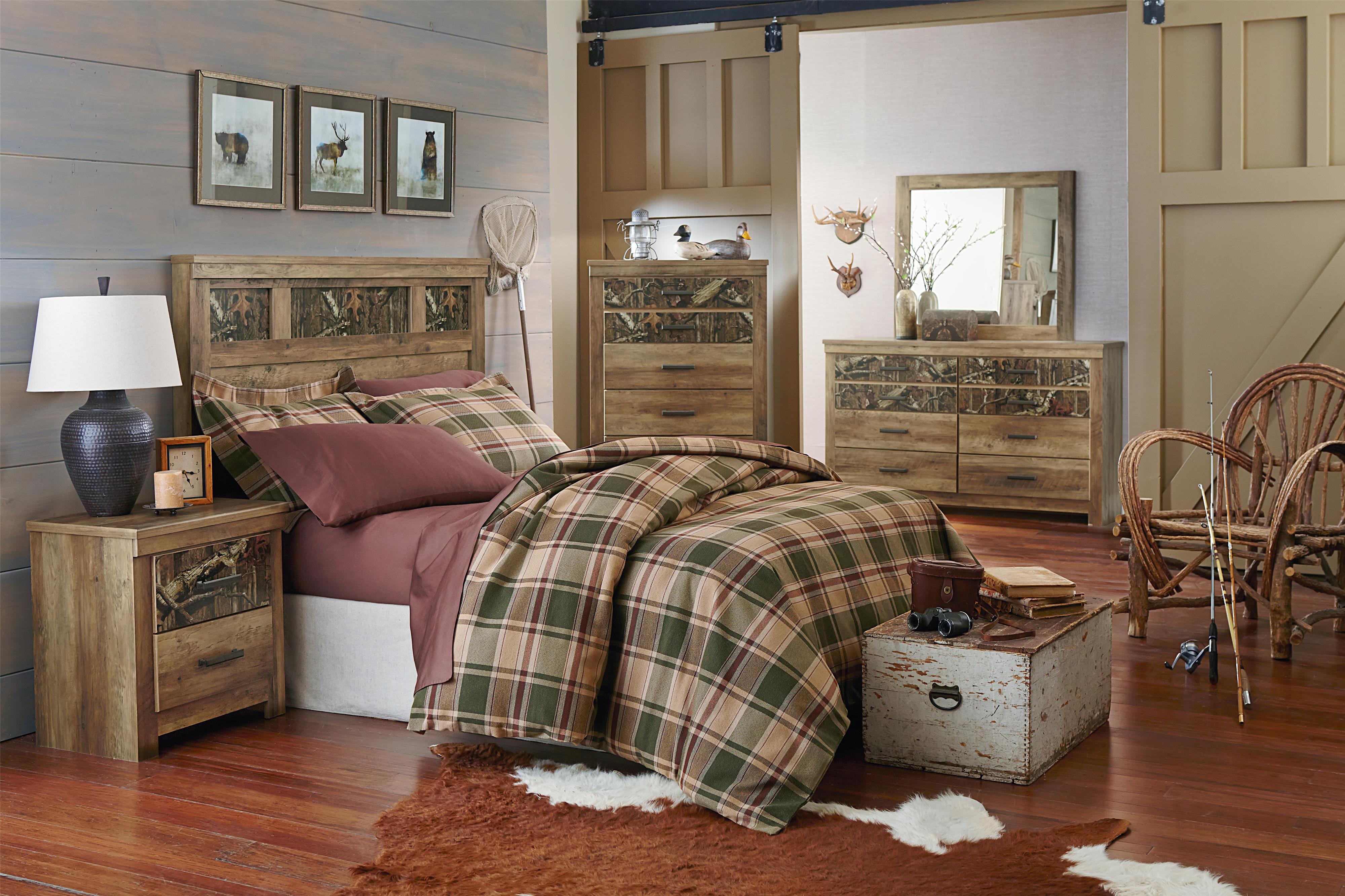Standard Furniture Habitat Full/Queen Bedroom Group - Item Number: 55450 FQ Bedroom Group 1