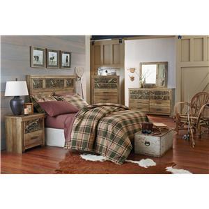 Standard Furniture Habitat Full/Queen Bedroom Group