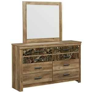 Standard Furniture Habitat Dresser and Mirror