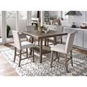 Standard Furniture Halden 5-Piece Counter Height Dining Set - Item Number: 13031+2x34