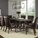 Standard Furniture Hawkins Table and Chair Set - Item Number: 18901+2018901+3018901+4x18904