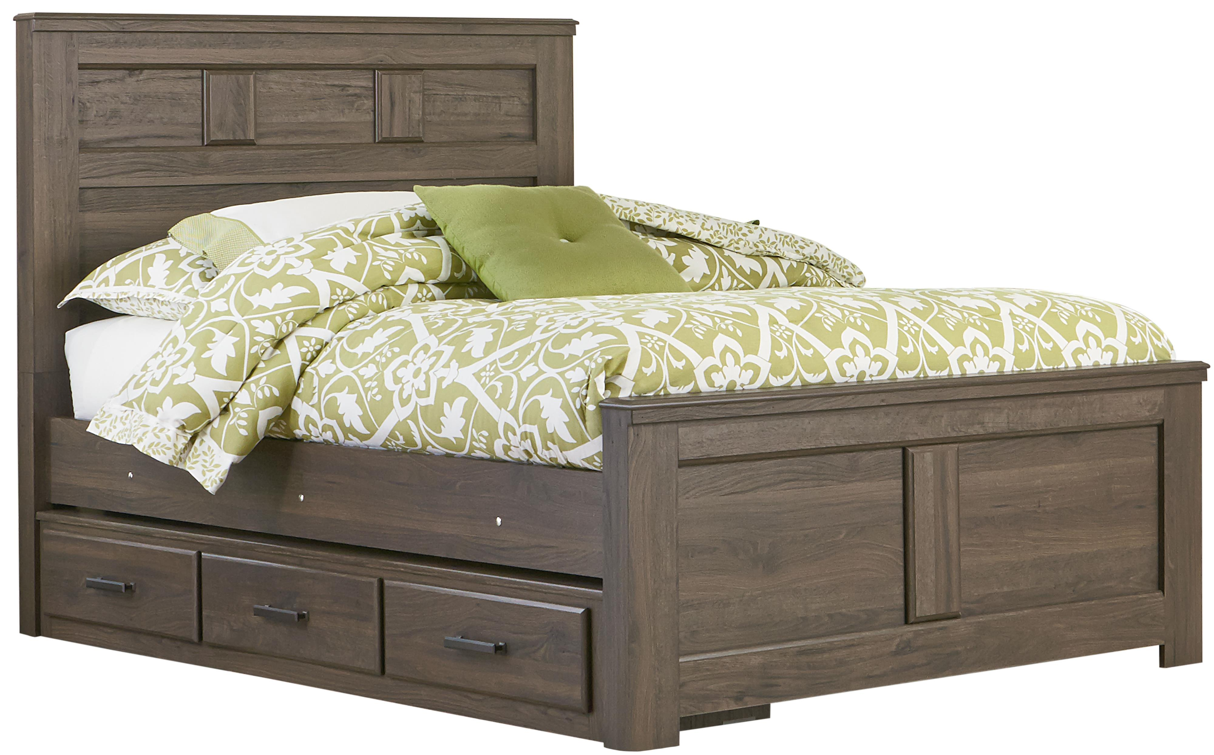 Standard Furniture Hayward Twin Panel Bed - Item Number: 56503+13+10+23
