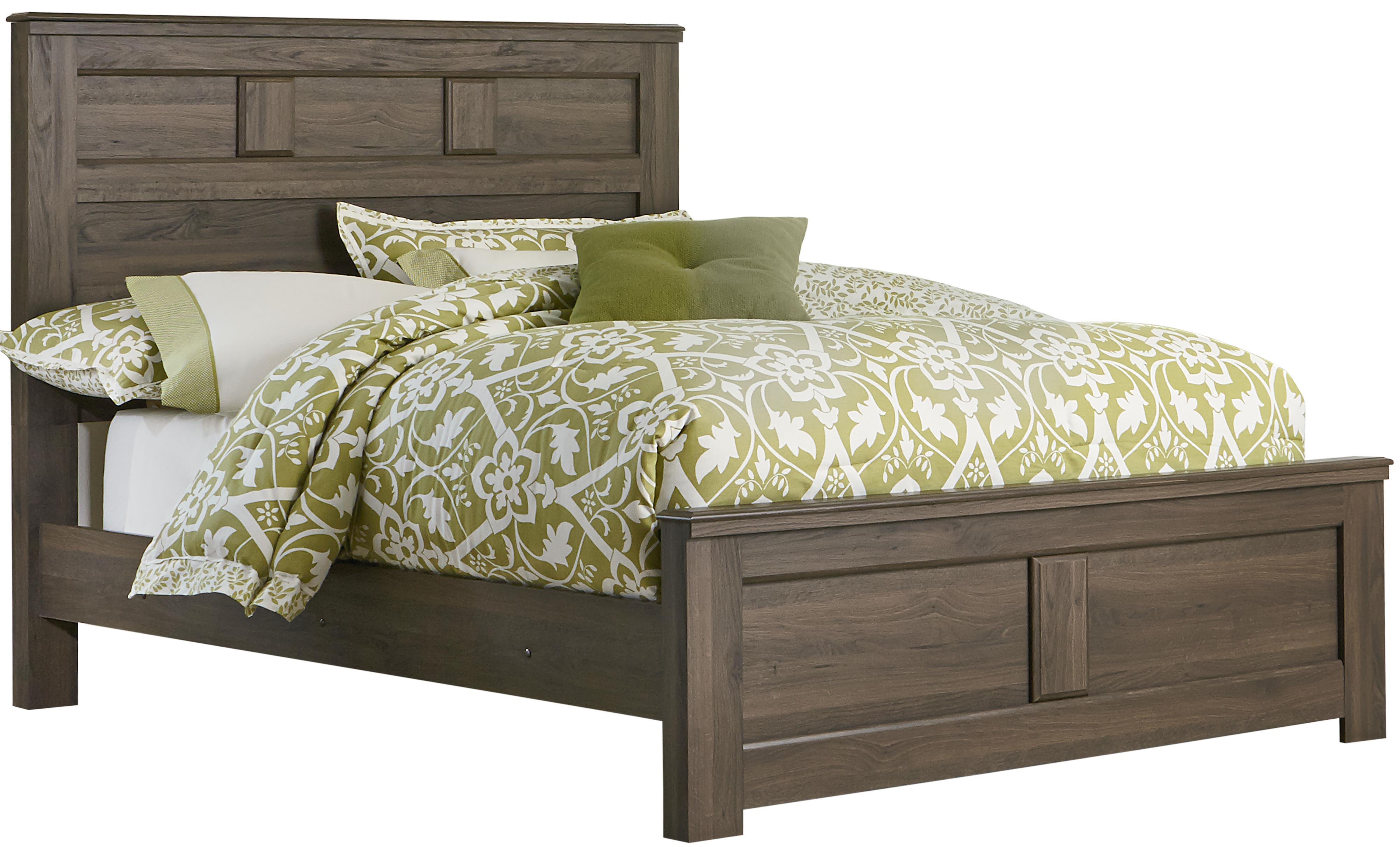 Standard Furniture Hayward Queen Panel Bed - Item Number: 56502+12+30