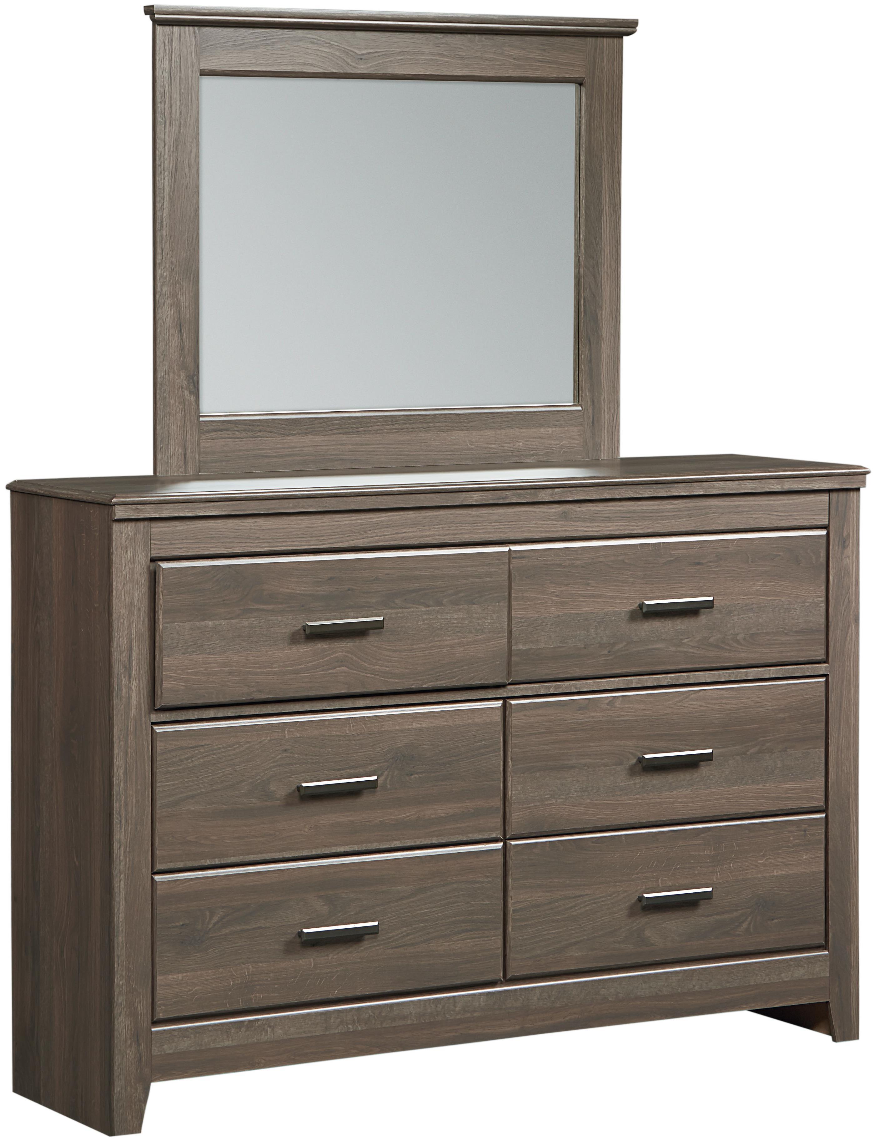 Standard Furniture Hayward Dresser + Mirror - Item Number: 56509+18