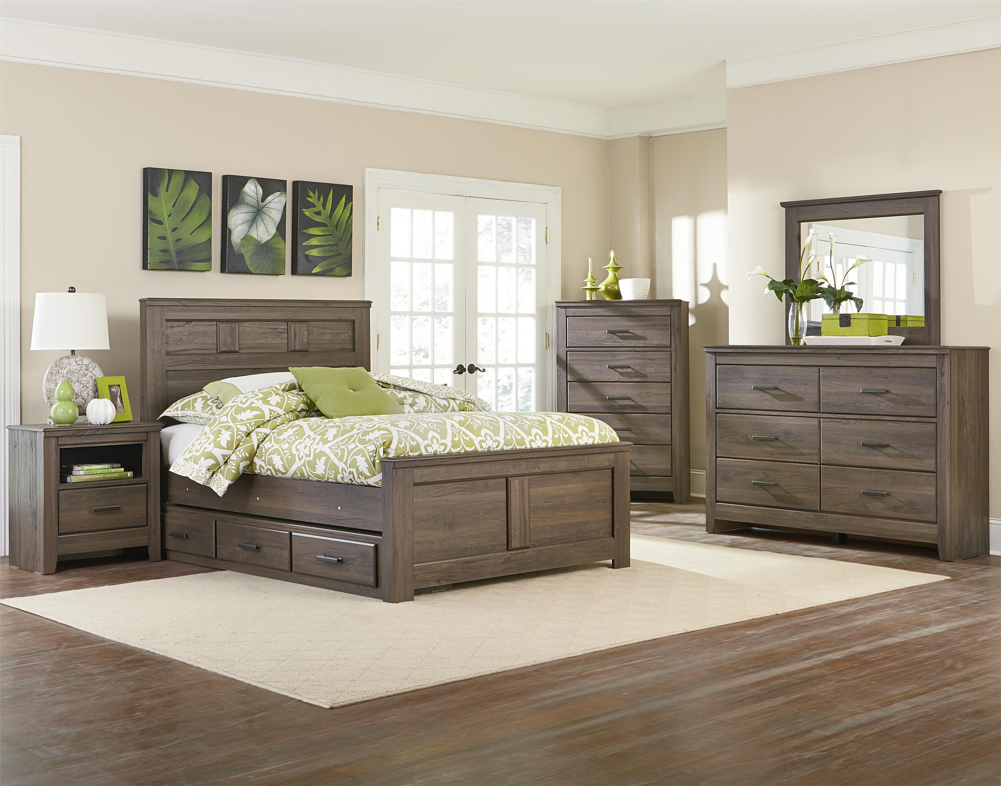 Standard Furniture Hayward Full Bedroom Group - Item Number: 56510 F Bedroom Group 4