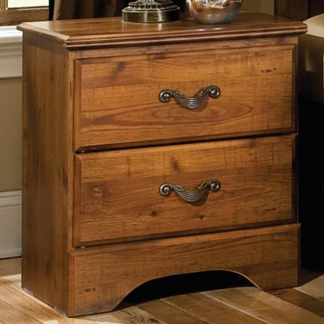 Standard Furniture Hester Heights 2 Drawer Night Stand - Item Number: 61157