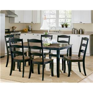 Standard Furniture Highland Black Table and Chair Set