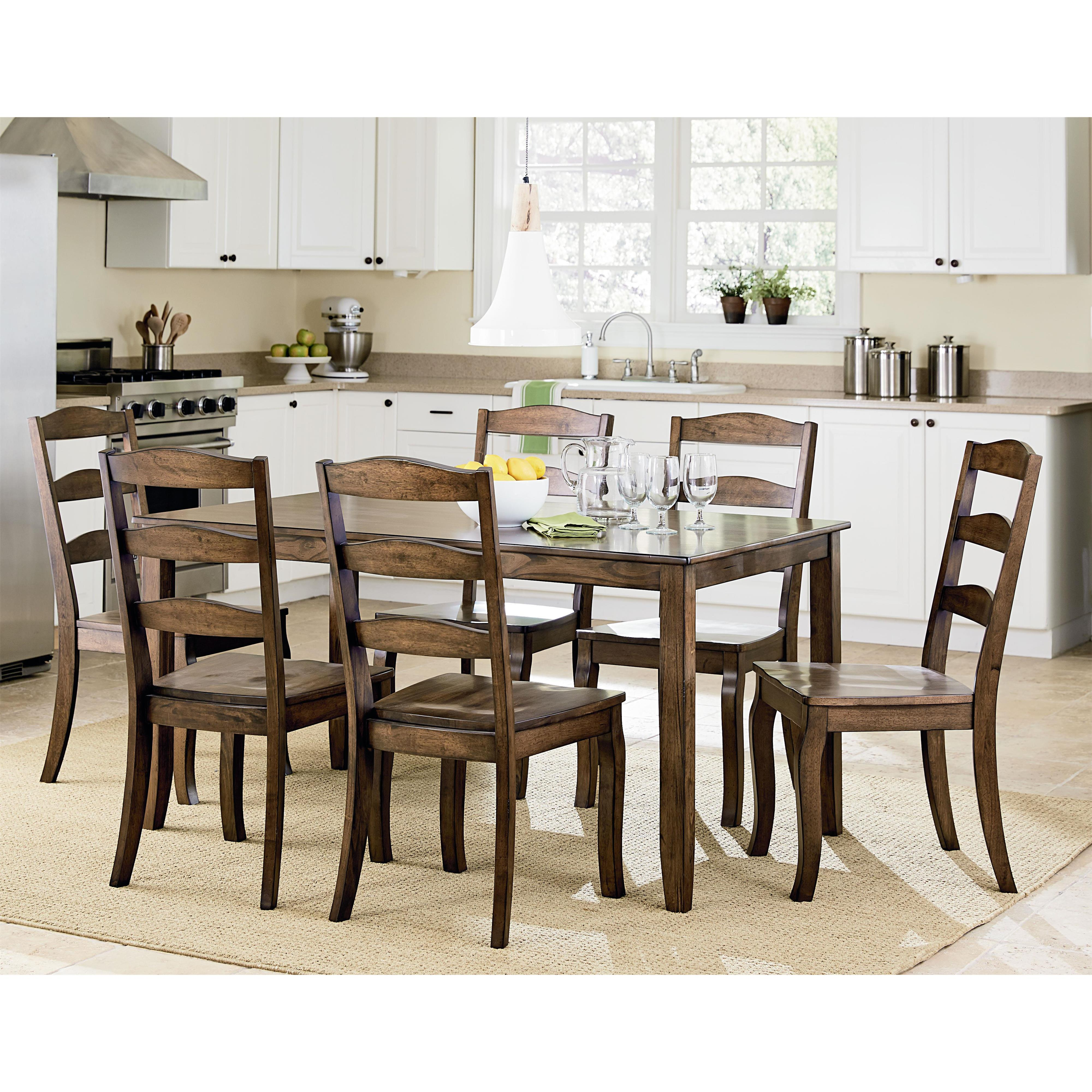 Standard Furniture Highland Table and Chair Set      - Item Number: 16562