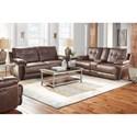 Standard Furniture Hollister Reclining Living Room Group - Item Number: 414700 Living Room Group 2