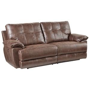 VFM Signature Hollister Sofa, Manual Motion -Brown