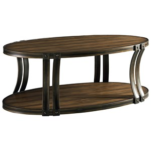 Standard Furniture Huntington Oval Cocktail Table
