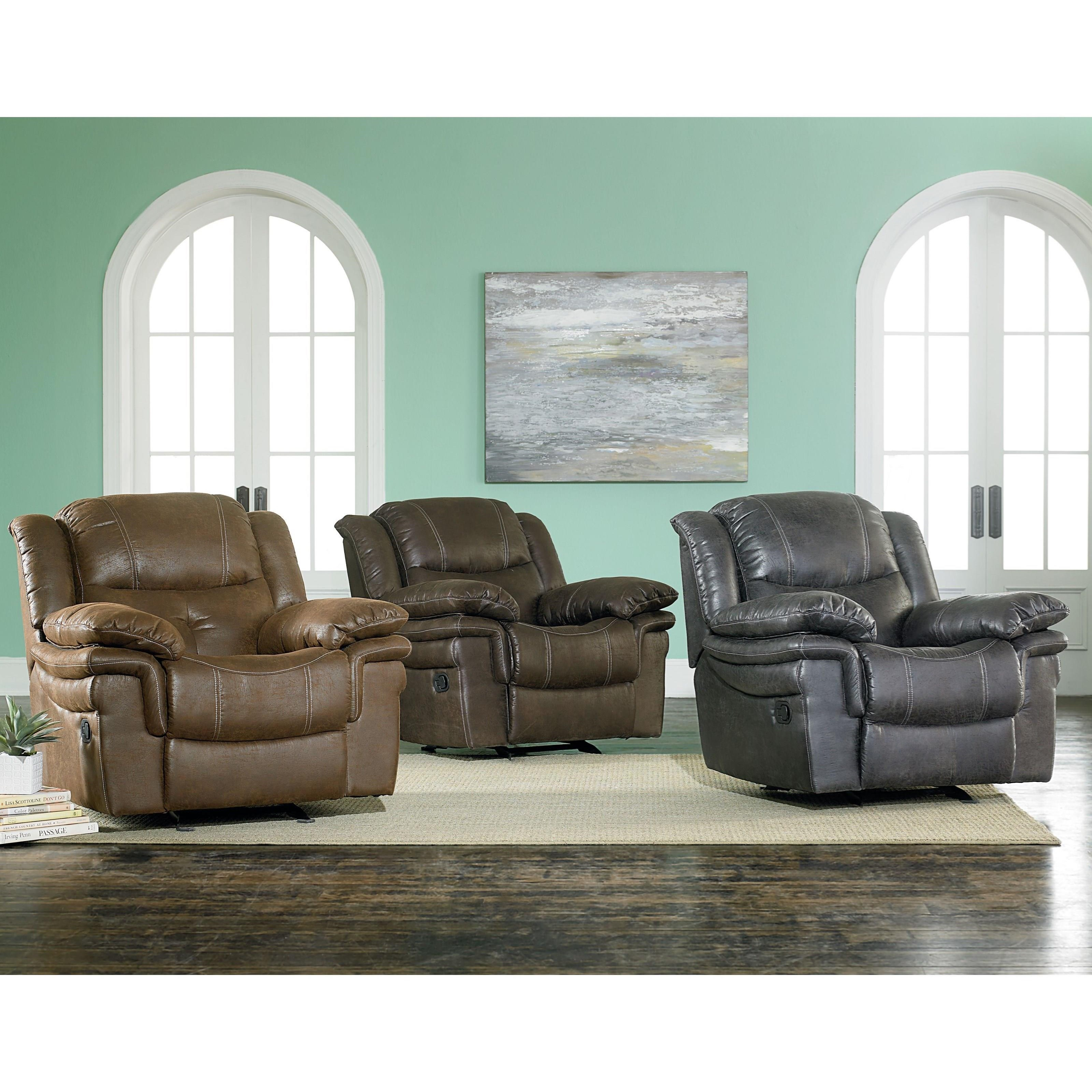 Standard Furniture Huxford Glider Recliner With Pillow