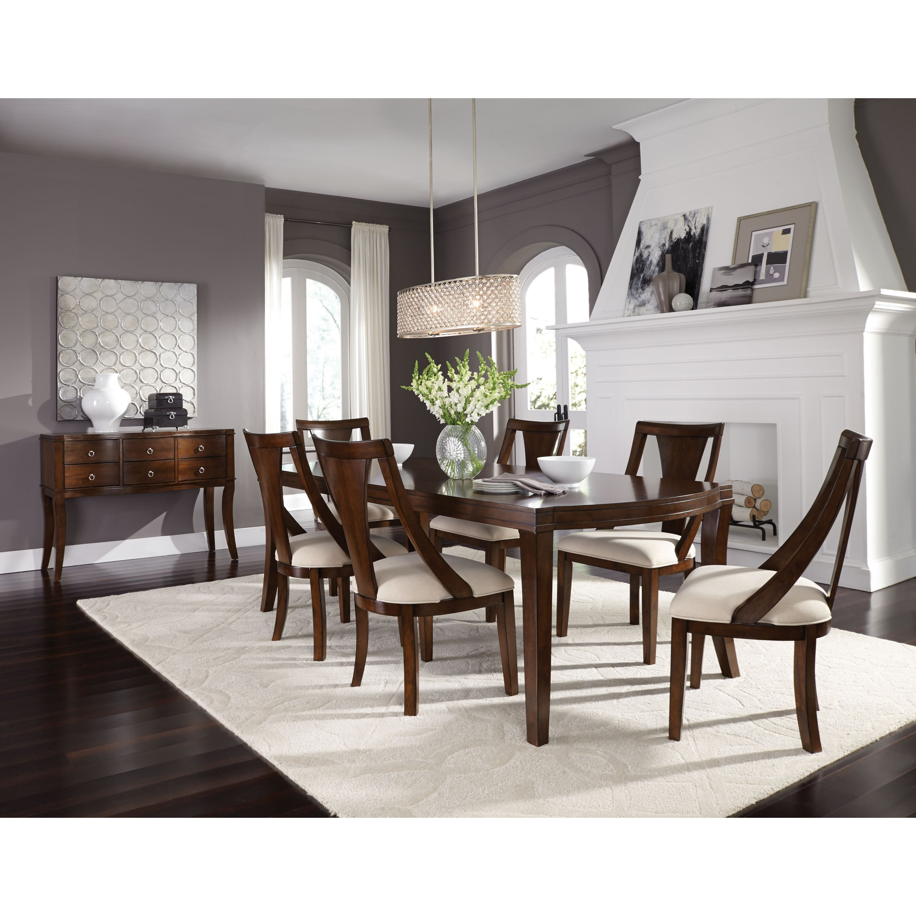 Standard Furniture Insignia Contemporary Dining Room Group