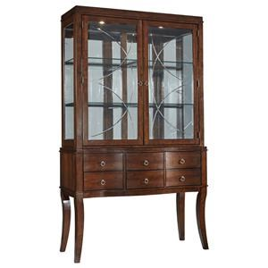 Standard Furniture Distinction 2PC China Cabinet