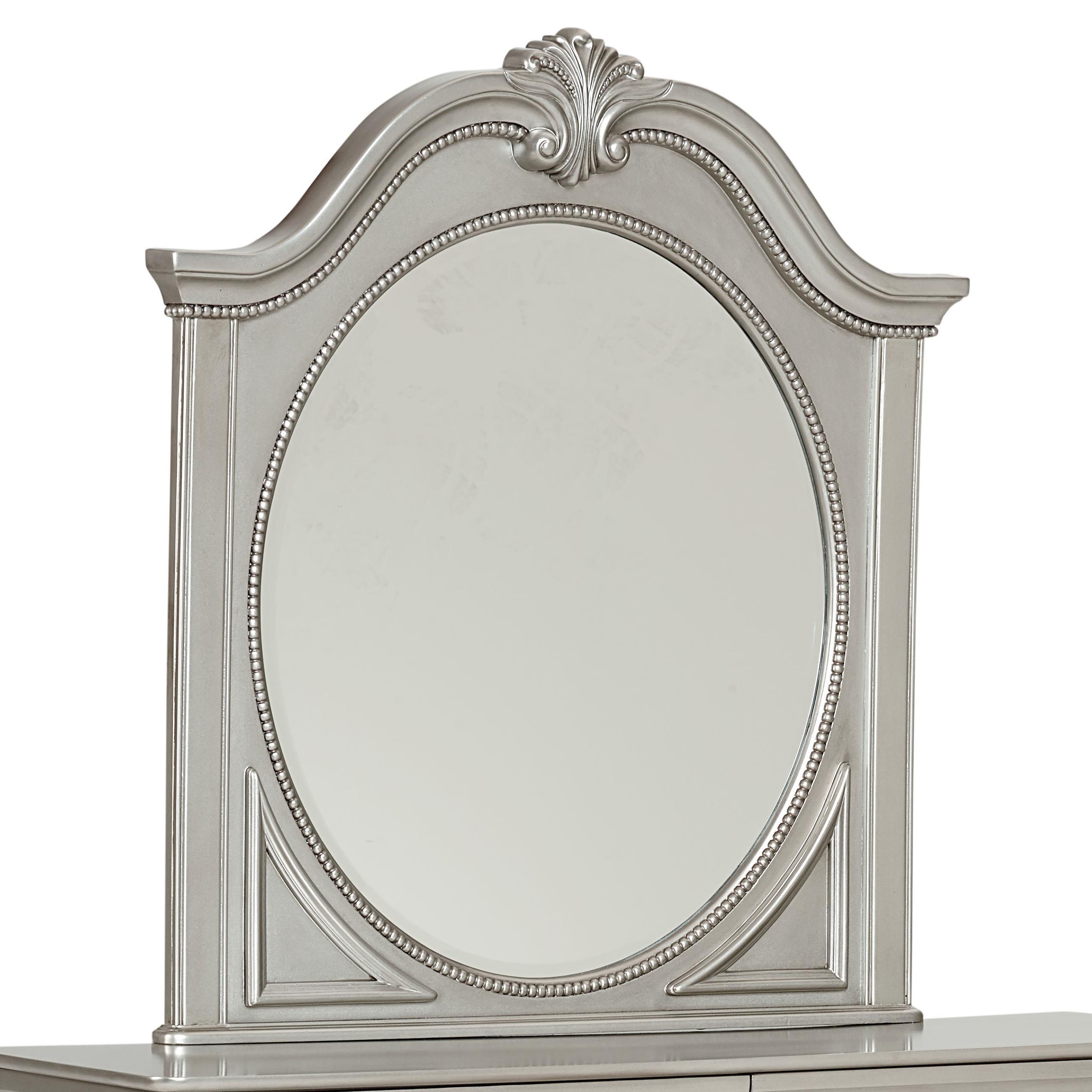 Standard Furniture Jessica Silver Mirror - Item Number: 93558