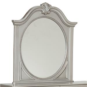 Standard Furniture Jessica Silver Mirror