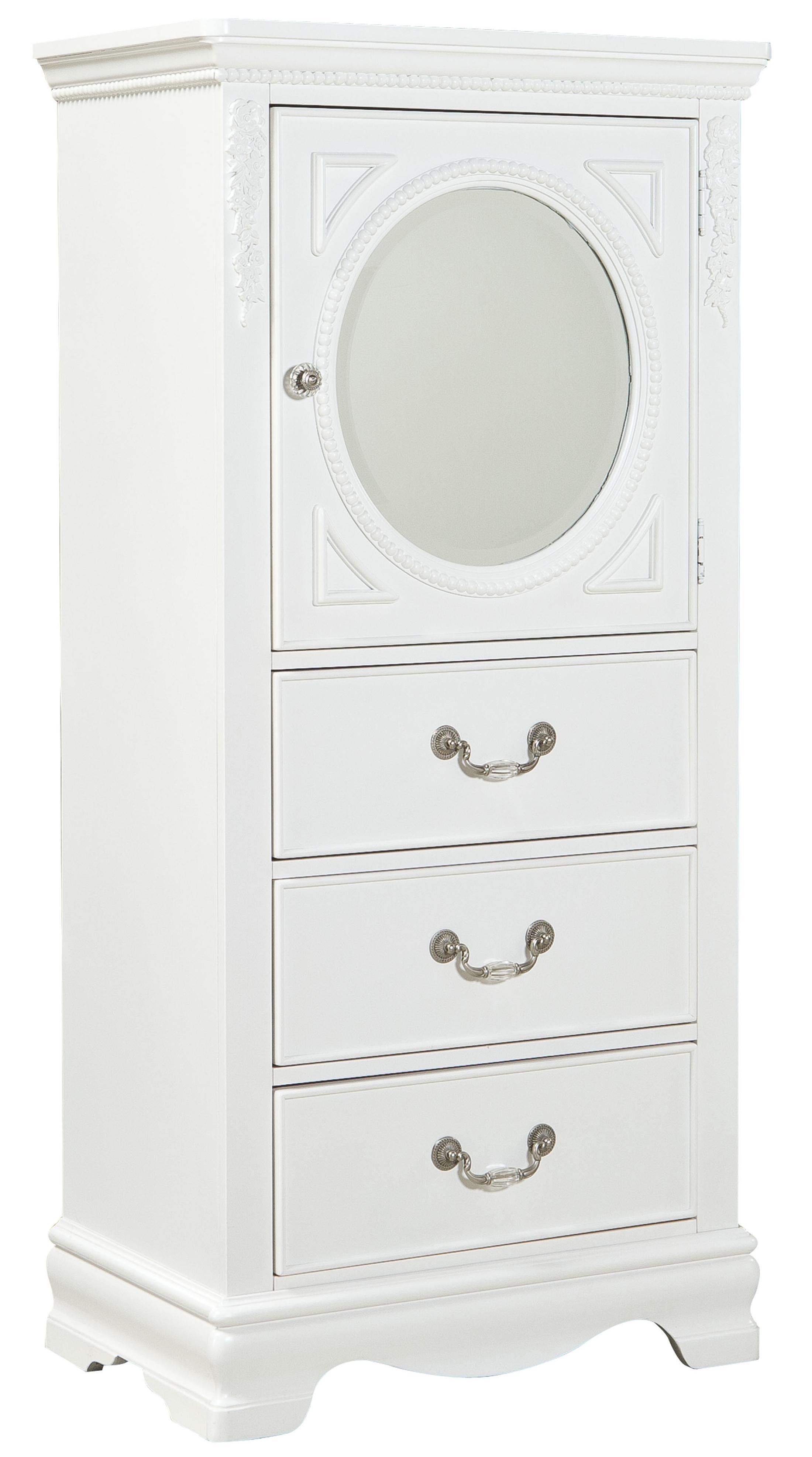 Standard Furniture Jessica Lingerie Chest - Item Number: 94215