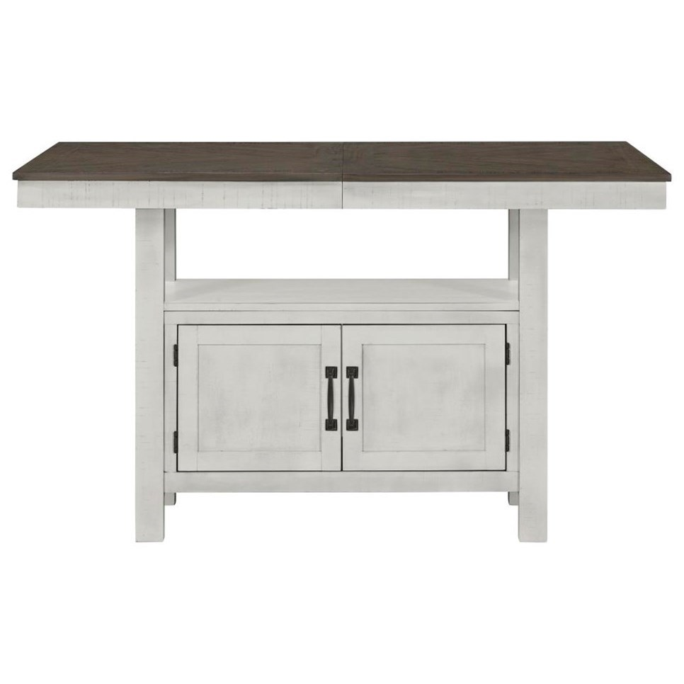 Standard Furniture Kirkland Casual Counter Height Dining Table