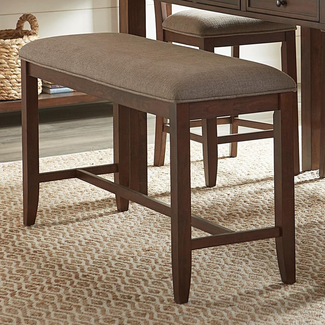 Standard Furniture Kyle Casual Counter Height Dining Bench ...