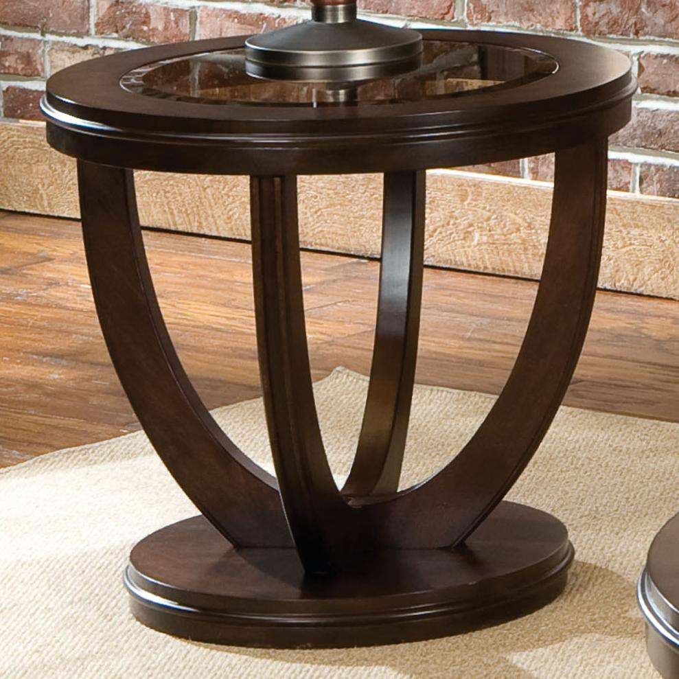 Standard Furniture La Jolla 23762 Round End Table With