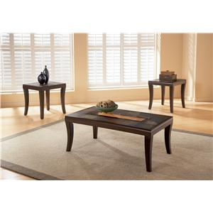 Standard Furniture Laguna  Occasional Table 3 Pack