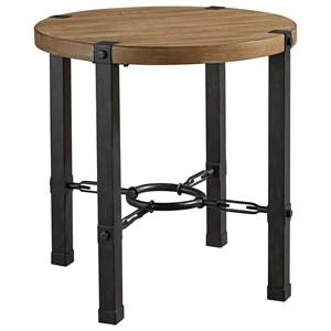 Standard Furniture Laredo Light Industrial End Table