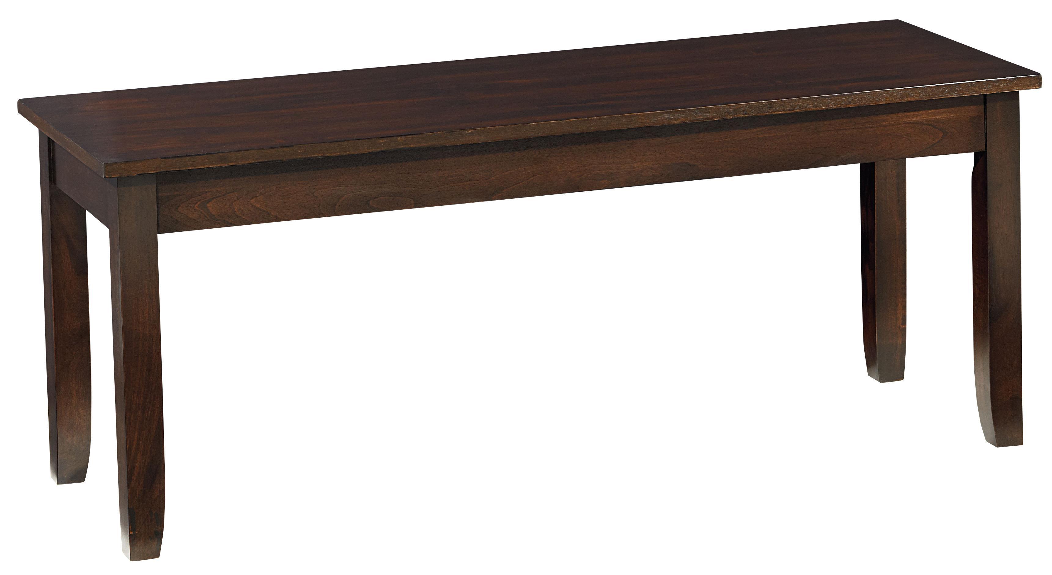 Standard furniture larkin wooden dining bench with chamfered legs standard furniture larkin dining bench item number 15245 geotapseo Choice Image