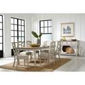 Standard Furniture Larson Light Formal Dining Room Group - Item Number: 18620 Dining Room Group 1