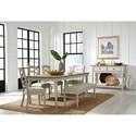 Standard Furniture Larson Light Formal Dining Room Group - Item Number: 18620 Dining Room Group 2