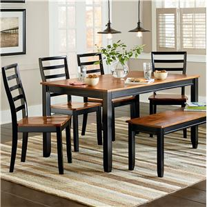 Standard Furniture Lexford Six Piece Dining Set