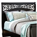 Standard Furniture Madera King Sleigh Headboard - Item Number: 54566