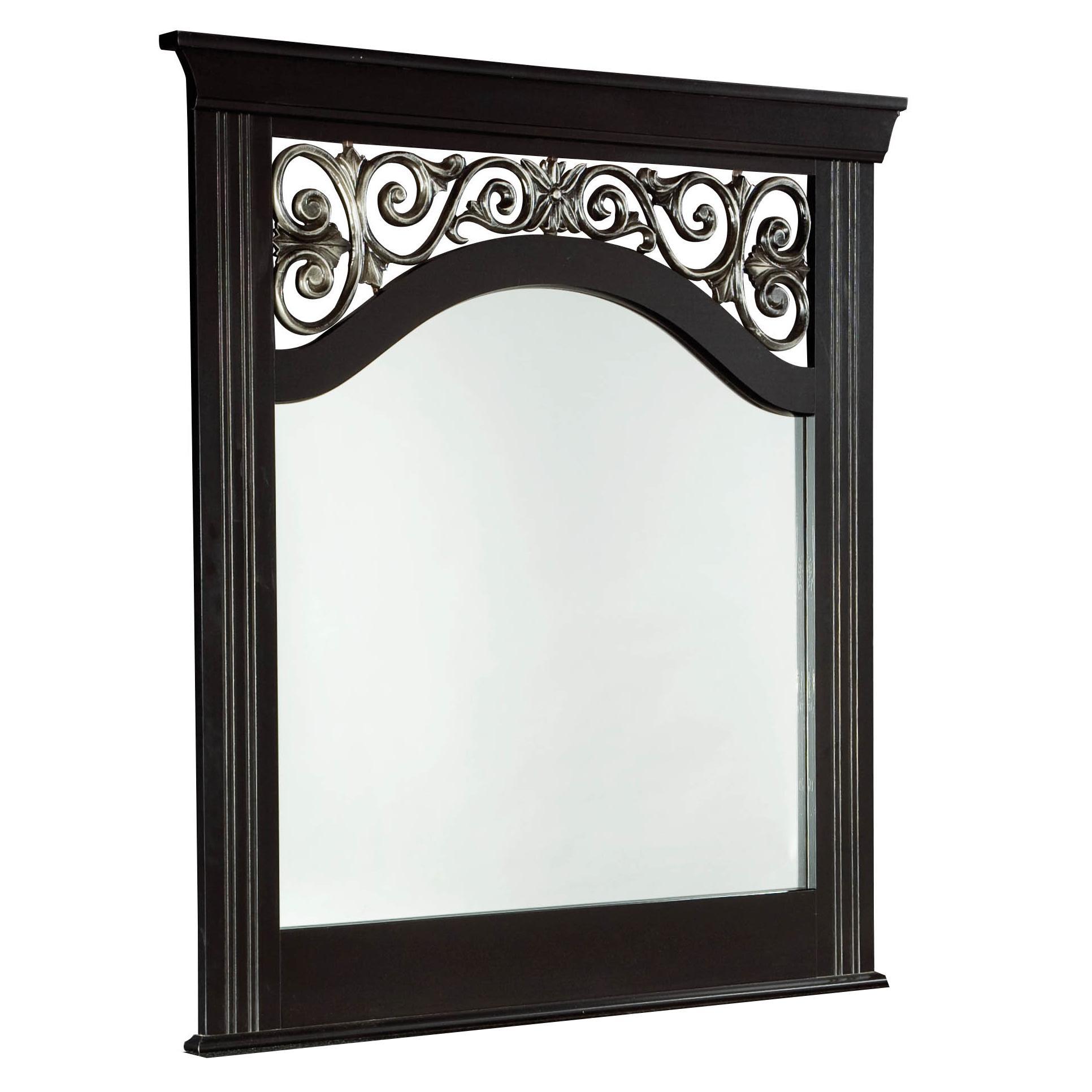 Standard Furniture Madera Panel Mirror - Item Number: 54568