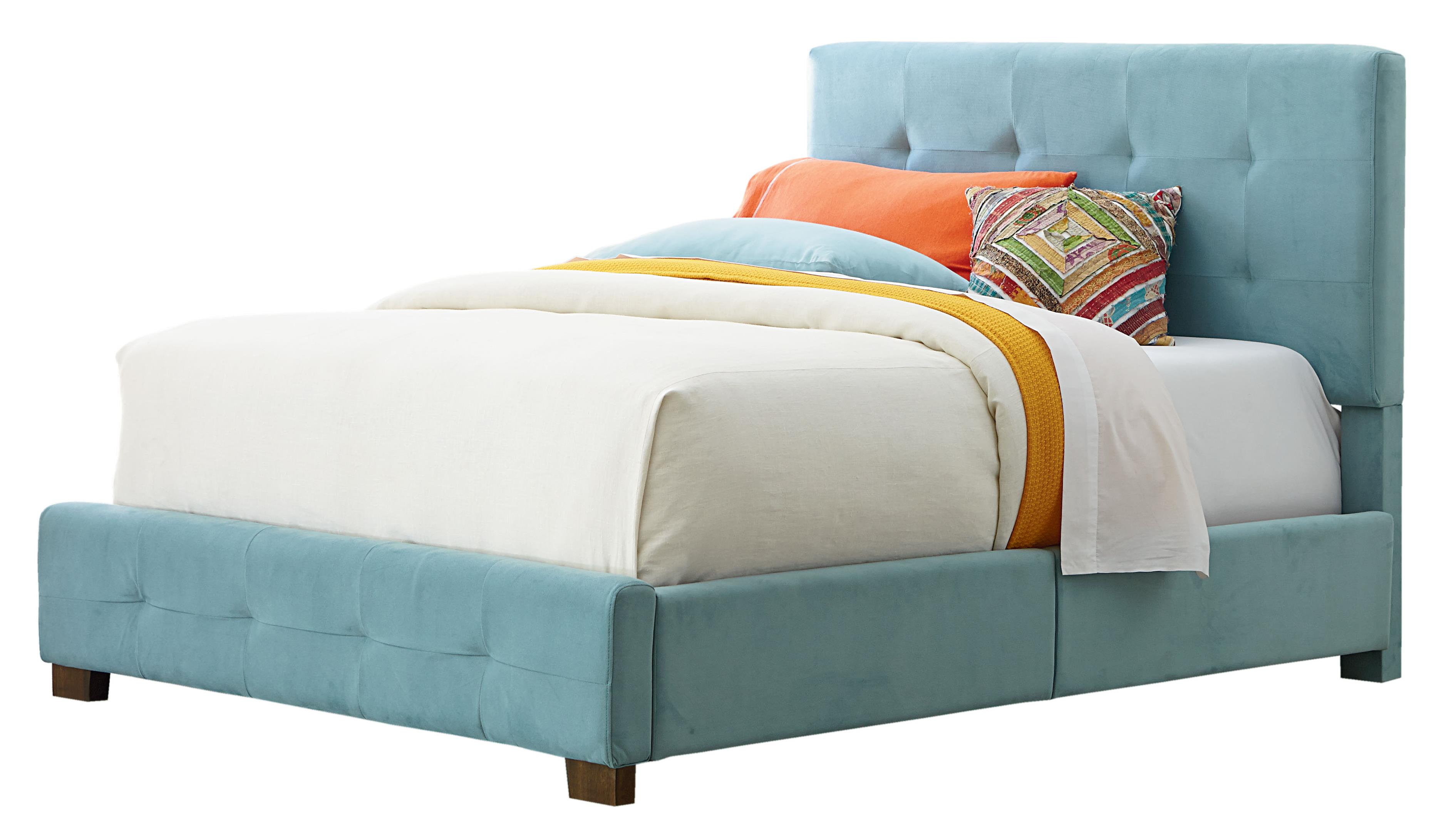 Standard Furniture Madison Full Upholstered Bed with Short Wood Legs - Item Number: 99211
