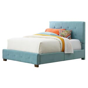 Standard Furniture Madison Full Upholstered Bed with Short Wood Legs