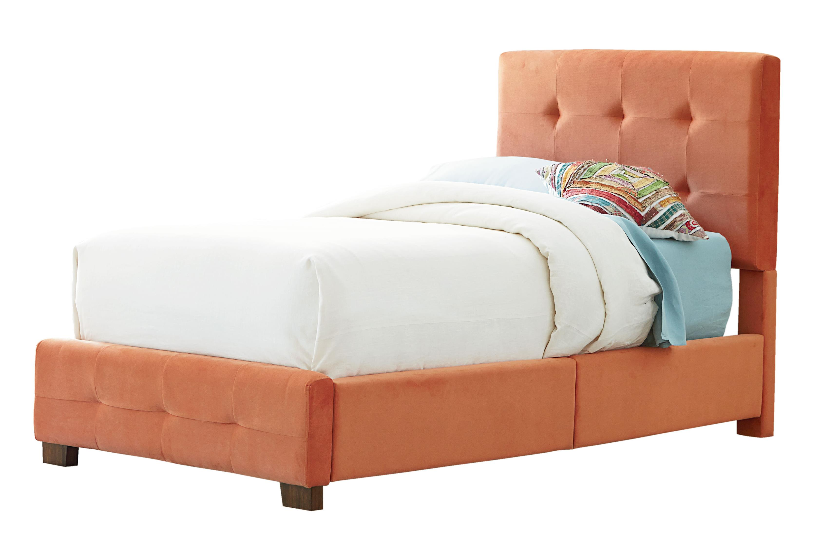 Standard Furniture Madison Twin Upholstered Bed with Tufting - Item Number: 99202