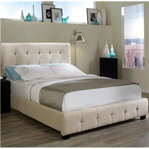 Standard Furniture Madison Square King Microfiber Bed
